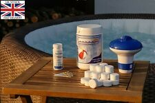 Hot Tub Starter Chemical Kit For Lay-Z Spa,Chlorine Tablets,Dispenser,Ph,Strips