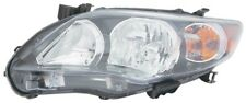 Headlight Assembly Left Maxzone 312-11C5L-AS2 fits 2011 Toyota Corolla