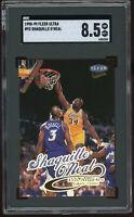 1998-99 Fleer Ultra #93 Shaquille O'Neal SGC 8.5= PSA 8.5? LA Lakers *Tough*