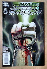 WAR OF THE GREEN LANTERNS AFTERMATH #2 FIRST PRINT VARIANT DC COMICS (2011)
