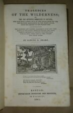 TRAGEDIES OF THE WILDERNESS (Indian Captivities) Samuel G. Drake 1841 free S/H