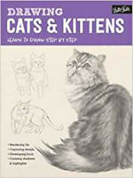 Drawing: Cats & Kittens: Learn to draw step by step (How to Draw & Paint), New,