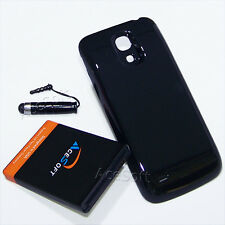 3in1 6300mAh Extended Battery Cover Stylus F Samsung Galaxy S4 Mini I435 Verizon