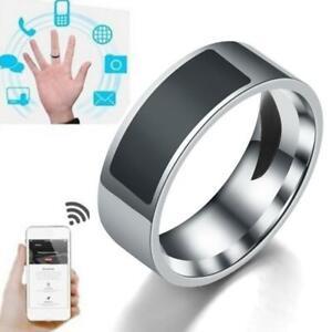 Anillos inteligentes NFC, anillo inteligente resistente al agua multifuncional,