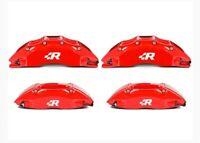 4 Pegatinas sticker aufkleber caliper brake R line volkswagen pinzas freno 4 cm