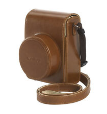 Canon Dcc-1820 Brown Leather Case for G1x II 0039X578