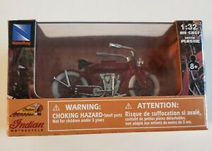 Indian Scout Board Track Racer 1912 1:32 Die Cast by Indian Motorcycles New