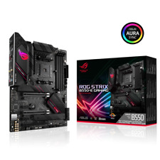 ASUS ROG STRIX B550-E GAMING Mainboard (PCIe 4.0, USB 3.2 Gen 2 Typ-C, HDMI-2.1)