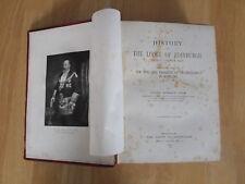 History of The Lodge of Edinburgh Mary's Chapel  No 1 D M Lyon 1903 Tercentenary