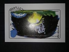 Scotland Vandersanden Staffa souvenirausgabe para el parque nacional lunar lander luna país