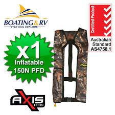 Adult Life Jacket Inflatable PFD 150N OUTDOORS Lifejacket - Marine Vest Manual