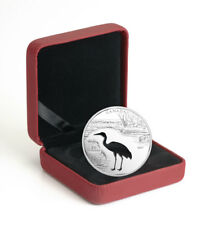 2017 Canada Endangered Whooping Crane Cutout Silver Proof $30 OGP SKU49962