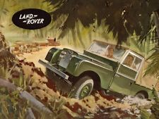 LAND ROVER 1957-1958 SERIES-I '88' RETRO POSTER PRINT CLASSIC ADVERT A3 !