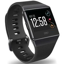 Fitbit Ionic Gr L + 6x Folie Ersatz Silikon Armband Sport Band Fitness Tracker