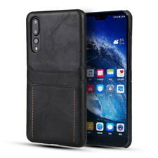 For Huawei Mate 20 Pro Lite P20 Leather Wallet Pocket Card Slot Slim Case Cover