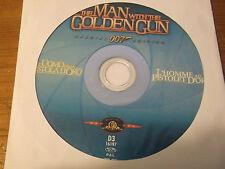 """DVD  """" James Bond 007 L'uomo dalla pistola d'oro  """"  -  DA EDICOLA - (130)"""