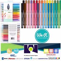 American Crafts TOOL - WR -FABRIC PENS FINE TIP FABRIC QUILL REFILLS 661173