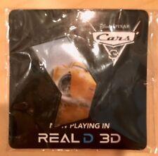 Disney Pin Cars 3 Cruz Ramirez Real D 3D - Yellow AMC Pin - Pixar's Cars 3