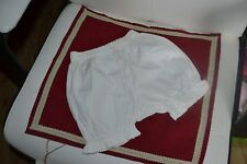 short blomer bonpoint pour la redoute taille74 soit 12 mois blanche