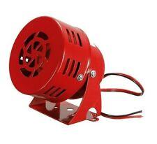Sirène Klaxon Alarme Pompier US 12v Haute Puissance 114dB