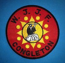 Vintage 1980's World Jiu Jitsu Federation Mma Martial Arts Uniform Gi Patch 317