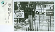 KEVIN BROPHY AT DOG KENNELS LUCAN ORIGINAL 1975 ABC TV PHOTO