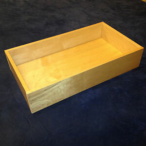 Custom, cut to size, Replacement drawer box