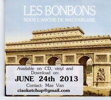 (DX566) Les Bonbons, Sous L'Arche de Macfarlane - 2013 DJ CD