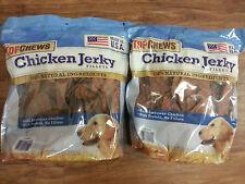 TOPCHEWS Premium Dog Treats, Chicken Jerky Fillets 6 lb  top chews   waggin chew