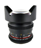 Rokinon 14mm T3.1 Ultra Wide Cine Lens for Canon, Nikon, Sony A & Sony E