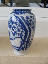 VASE Porcelaine Japonaise TONS BLEUS 13 cm hauteur