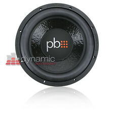 "PowerBass M-1204 Car Audio 12"" Single 4-Ohm M-Series Subwoofer 750 Watts New"
