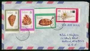 Mayfairstamps Belize 1983 Seashell Combo Holland MI Cover wwi_88069