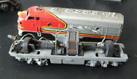 Vintage HO Scale Santa Fe 809 Diesel Locomotive TLC