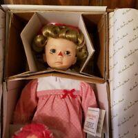 "Danbury Mint 20"" Porcelain Doll ""Baby Annie"" Kelly Rubert Artist New in Box"