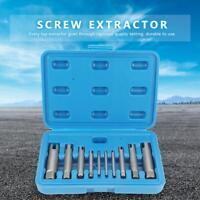 Steel Broken Head Taps Remover Stripped Screw Tap Extractor Set Good
