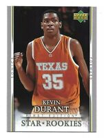 Kevin Durant 2007-08 Upper Deck First Edition #202 Star Rookies, mint condition