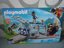 Playmobil Dinos (The Explorers) 9433 Propellerboot mit Dinokäfig - Neu & OVP
