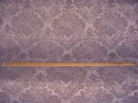 13Y LEE JOFA LAVENDER / LIGHT GRAY FLORAL CHENILLE DRAPERY UPHOLSTERY FABRIC