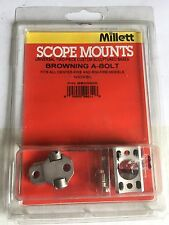 Millett Scope Mounts 2 Piece for Browning A bolt Nickel BB00905