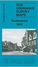 OLD ORDNANCE SURVEY MAP TEWKESBURY 1923