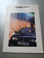BMW 3 SERIES   Brochure 1991