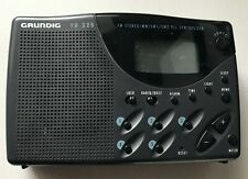 GRUNDIG YB 320 Digital AM/FM/ Stereo SW1/SW2 PLL SYNTHESIZER CLOCK/TIMER/ALARM
