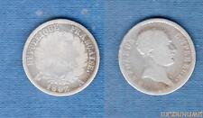 Ier Empire, 1804 – 1814 1 Franc Tete de nègre 1807 A Paris B TB Napoléon Ier RAR
