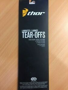 Thor Laminated Tear offs suit HERO ENEMY Goggles 2602-0658 14PK
