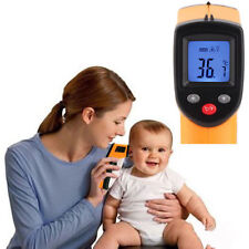 Non-Contact LCD IR Laser Infrared Digital Temperature Thermometer Gun FT