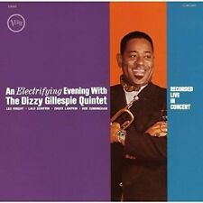 AN ELECTRIFYING EVENING WITH DIZZY GILLESPIE QUINTET CD PLUS 18 MIN INTERVIEW BO