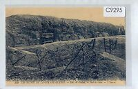 C9295cgt Military WWI France Verdun Fort Ruins vintage postcard