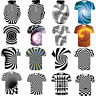 3D Optical illusion T-Shirt Hypnosis Swirl Men Funny Hoodie Sweatshirts Tee Tops