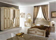 Camera da letto matrimoniale LUISA Stile Barocco completa di rete a doghe